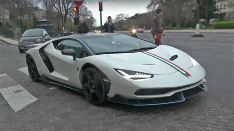 lamborghini centenario the 1 9 million lamborghini centenario hit the road