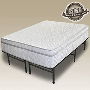 Bed Ebox Master sleep master 13 quot mygel 174 icoil 174 box top hybrid mattress bed frame set co uk