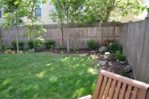backyard corner landscaping ideas corner fence landscaping goenoeng