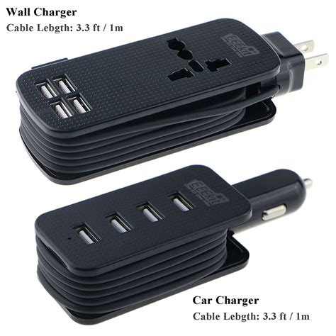 Usb Power Car Charger Travel Organizer Charger Cas Mobil all in one travel charger kit for smart phones eeekit