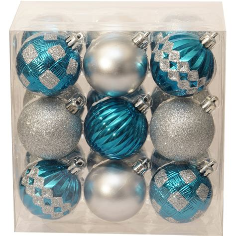 Of Walmart Search By State Time Green And White Shatterproof Ornaments Set Of 50