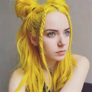 and colored hair best 25 yellow hair ideas on yellow hair dye