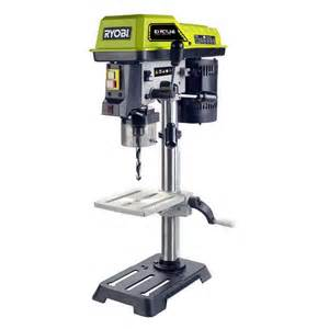 Bench Pillar Drill - ryobi 390w 13mm drill press bunnings warehouse
