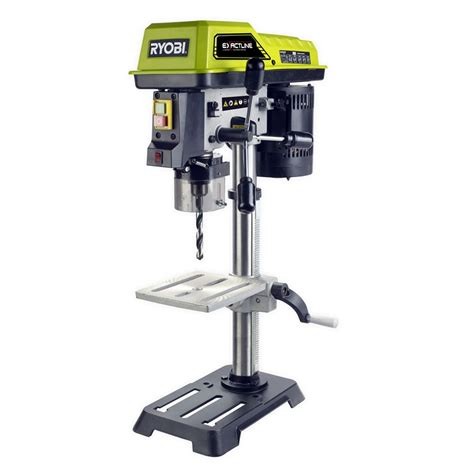 bench drill press australia ryobi 390w 13mm drill press bunnings warehouse