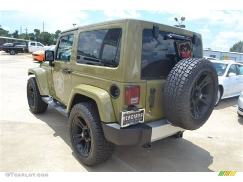 2013 jeep wrangler colors 2013 commando green jeep wrangler 4x4 83692692