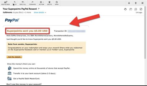 Gift Card Money To Paypal - is superpoints com a scam
