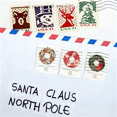 cards addressed and mailed santa claus mailing address lovetoknow