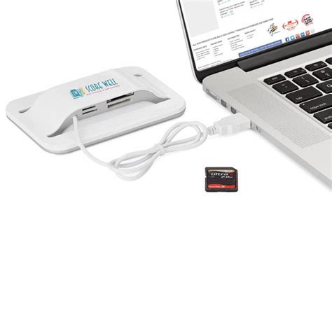 Card Reader Multi Slot 3 Usb Hub Epro Ec 1503 Garansi Resmi imprinted multa usb hub multi card reader usimprints