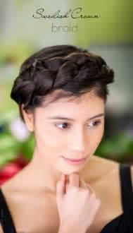 sweden hairstyles swedish crown braid tutorial
