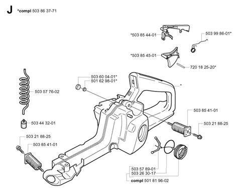 husqvarna chainsaw parts diagram husqvarna 350 chainsaw parts diagram diarra with regard