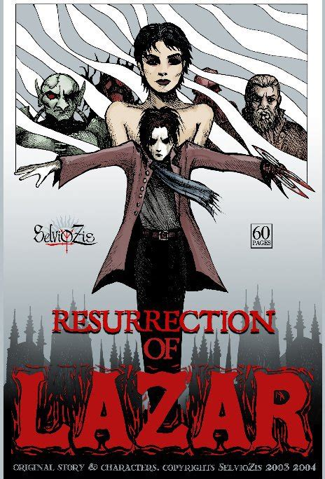 resurrection shadows of omega volume 1 books resurrection of lazar by selviozis comics graphic