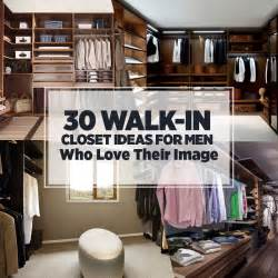30 walk in closet concepts for guys who love their picture 45 walk in closets for men dark and luxurious