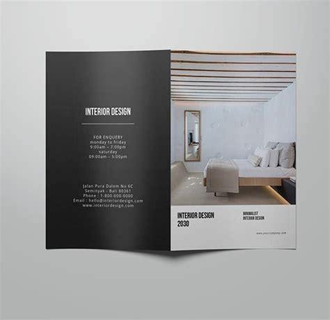 21 Interior Design Brochures Sle Templates Interior Design Brochure Template Free