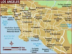 Los Angeles Tourist Map by Map Of Hollywood City Tourist Maps Los Angeles City Map
