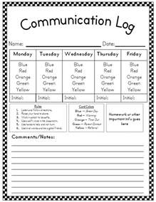 Behavior Plan Template For Elementary Students by Aloha Kindergarten Behavior Plan Linky