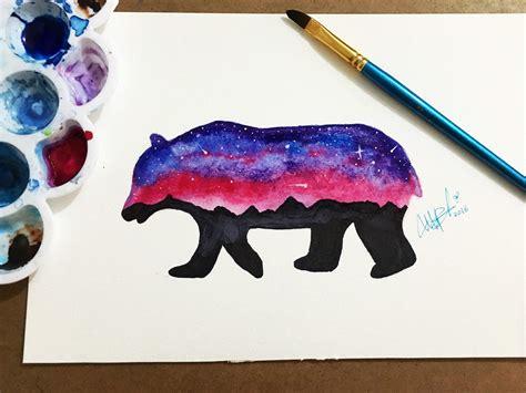 imagenes de galaxia wander a lapiz como dibujar un oso galaxia how to draw bear galaxy youtube