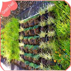 Vertical Garden Philippines Horizontal Pocket Decoration Wall Garden Planter Planting