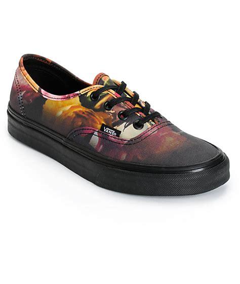 Vans Authentic Floral vans authentic ombre floral shoes womens at zumiez pdp