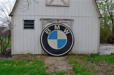 bmw dealership sign bmw m5 5 and half foot vintage actual bmw dealer sign on ebay