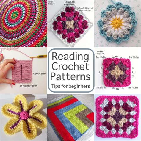 free knitting classes for beginners reading crochet patterns a beginner s guide