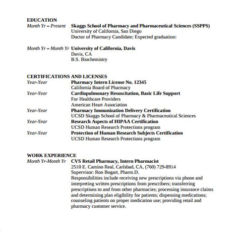 Usc Resume Words Sle Student Resume Template 11 Free Documents In Pdf Word