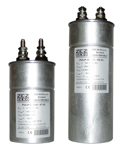 capacitor filter ac or dc ac filter capacitors single phase zez silko