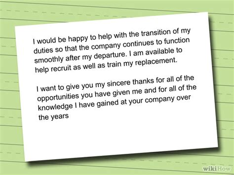 Thank You Letter To Who Is Leaving How To Write A Resignation Letter With Sle Resignation Letters