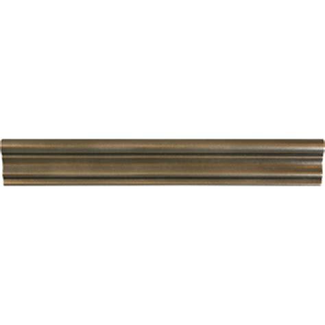 metal chair rail ideas shop bronze metal chair rail tile common 2 in x 12 in
