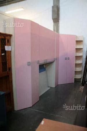 cabina armadio usata armadiatura con cabina ad angolo pesaro posot class