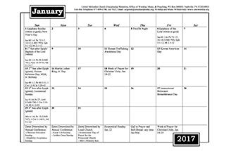 lectionary calendar 2017 calendar 2017