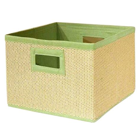 Storage Basket Green alaterre furniture 13 in x 8 in and lime green