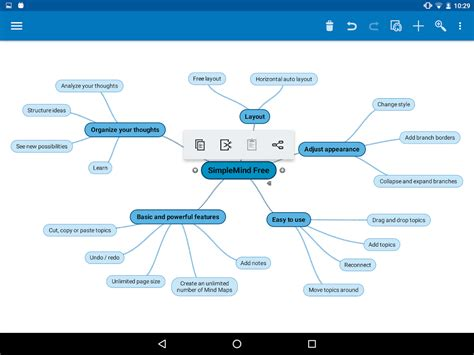 free mind map simplemind free mind mapping android apps on play