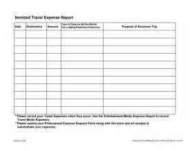 Business Trip Expense Report Template by Itinerary Template Business Trip Report Meeting