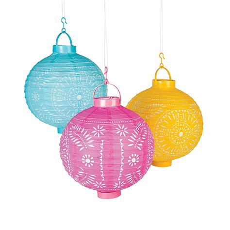 Light Up Paper Lanterns light up cutout paper lanterns trading