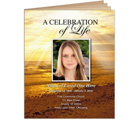 funeral booklets templates free 1000 images about obituary template on