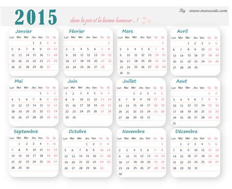 Calendrier A Imprimer Calendrier 2015 224 Imprimer Marocute