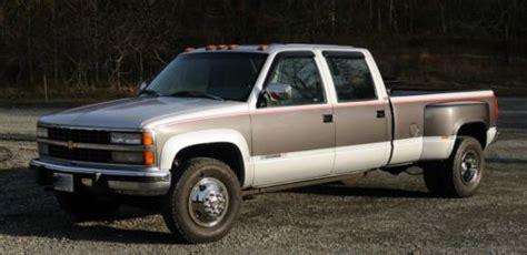 find used 1993 chevrolet 3500 silverado 4wd 4x4 k3500 crew cab dually in centreville virginia
