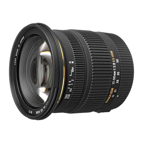 Sigma 17 50mm F2 8 Ex Dc Os Hsm Black Lens For Nikon sigma af 17 50mm f 2 8 ex dc os hsm canon