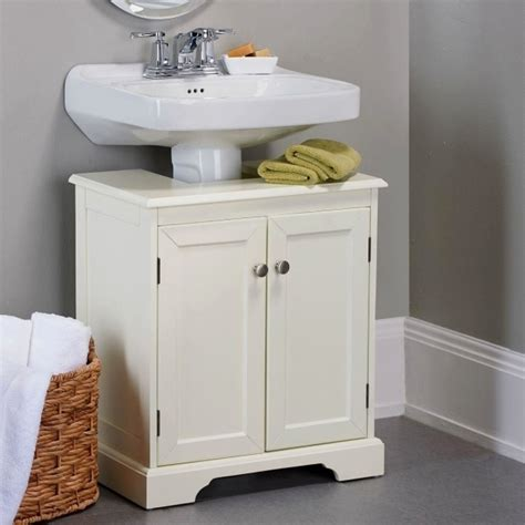 sink bathroom storage cabinet bathroom pedestal sink storage cabinet storage designs