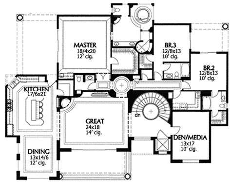 drive under house plans with elevator drive diy home plans hacienda for sloping lot with elevator 16335md 1st