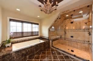 Master Bathroom Shower Ideas Custom Home Builders Bathrooms Showers Designs