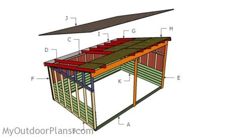 run  shed plans myoutdoorplans  woodworking