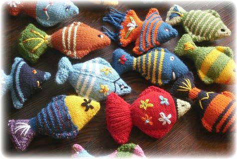 how to knit a fish fish to knit free patterns grandmother s pattern book