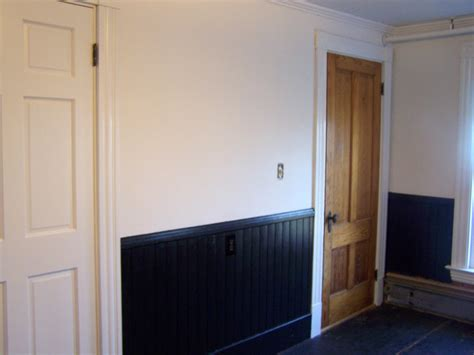 Painting Wainscoting by The Way I See It Paint It Black Wainscoting That Is