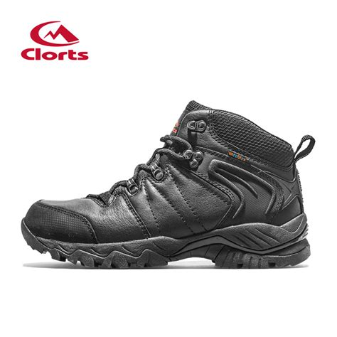 clorts genuine leather hiking boots outdoor mountain