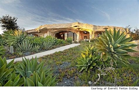 dick clark flintstone house photos offbeat dick clark s flintstones house in malibu on the market offbeat with phil potempa