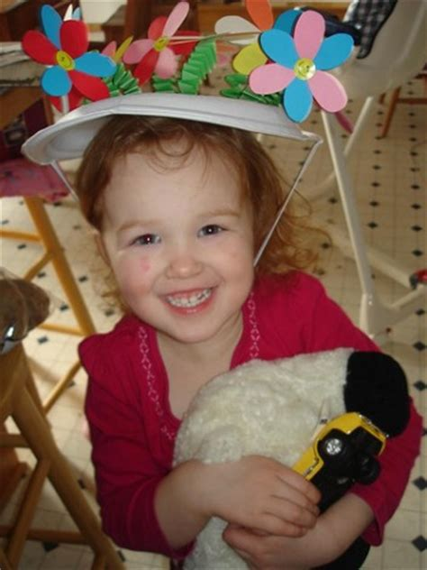 How To Make A Paper Easter Bonnet - easter craft egg stravaganza mamanista