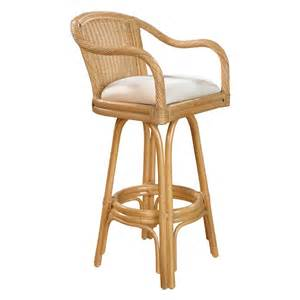 swivel wicker bar stools hospitality rattan key west indoor swivel rattan wicker