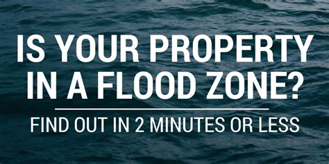 Flood Zone Address Lookup Is Your Property In A Flood Zone Find Out In 2 Minutes Or
