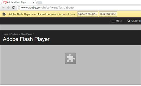 chrome and flash issues fix chrome s error adobe flash player was blocked